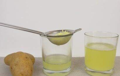 Kartof  suyunun inanılmaz faydaları