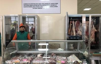 AQTA Bakıda müasir ət satışı məntəqəsi açdı
