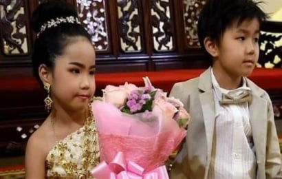 6 yaşlı əkiz bacı-qardaşı evləndirdilər