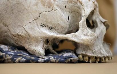 Atasını itirdi, 57 il sonra skeletini tapdı