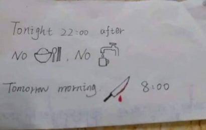 Записка китайской медсестры иностранцу рассмешила Сеть