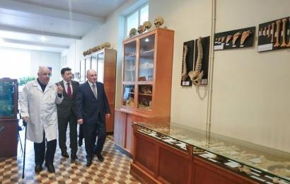 Azərbaycan Tibb Universitetinin yeni tədris mərkəzinin açılışı olub