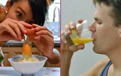 Çiy yumurta içməyin inanılmaz faydaları