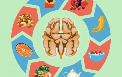 Beyinə faydalı qidalar