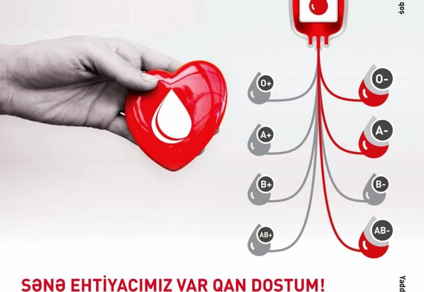 Mərkəzi Qan Bankı vətəndaşlara müraciət edib: Ehtiyatlar tamamilə azalıb